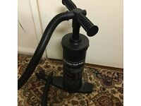 Brand new hand pump in very good condition