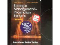Strategic Management of Information Systems Keri E Pearlson Carol S Saunders
