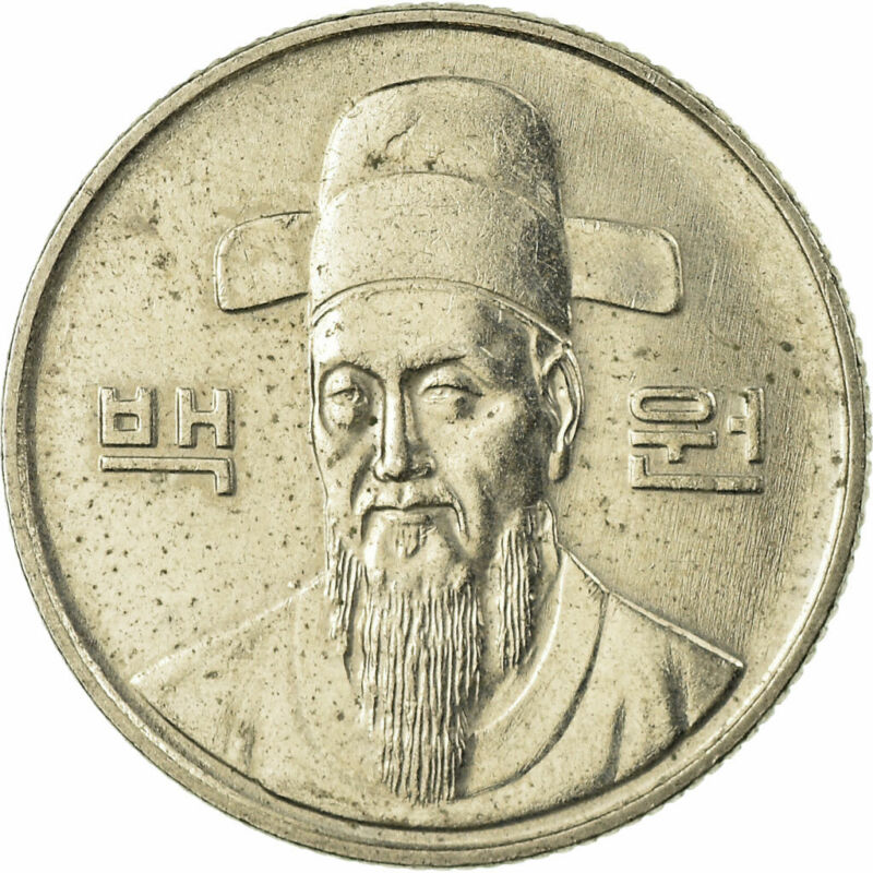 [#676985] Coin, KOREA-SOUTH, 100 Won, 1992, VF(30-35), Copper-nickel, KM:35.2