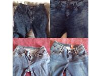 4 Pairs of Jeans - size 8