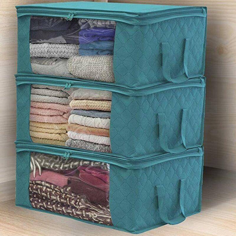 Home Closet Storage Bags Clothes Container Bag Foldable Pouc