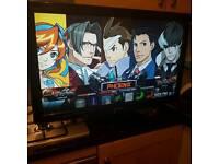 """Panasonic Viera 37"""" TV Television 37 Inch FreeView Full HD 1080 2 HDMI TXL37U10B"""