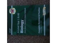 EDEXCEL BIOLOGY A LEVEL YEAR 1 & AS REVISION & PRACTICE BOOK. BRAND NEW! ONLY £7.00.