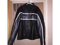 JTS Leather Motorcycle Jacket