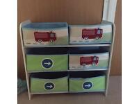 Matching storage unit & bed