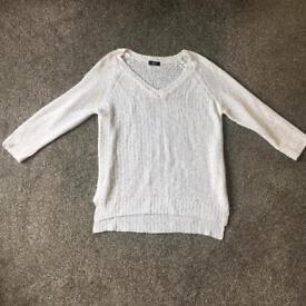 F&F sequin knit jumper