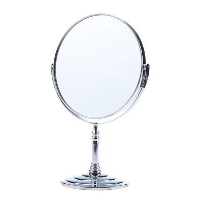 Freistehende Make up Rasur Badezimmer Vanity Swivel Mirror 2X vergrößern ()