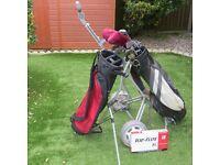 Set of Left Handed Golf clubs