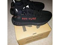 Adidas Yeezy Bred Infants 6.5k Black and Red