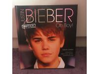 Justin Bieber Oh Boy! Unofficial Hardback