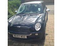 Black 'carbon fiber' Matte roof 1.6 MINI ONE 3dr Petrol