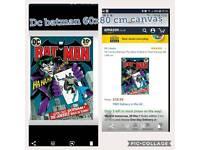 DC Comics Batman The Joker Is Back In Town Canvas, 60 x 80 cm