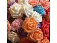 Foam flower heads