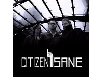 Citizen Sane auditioning Bassists for EP launch