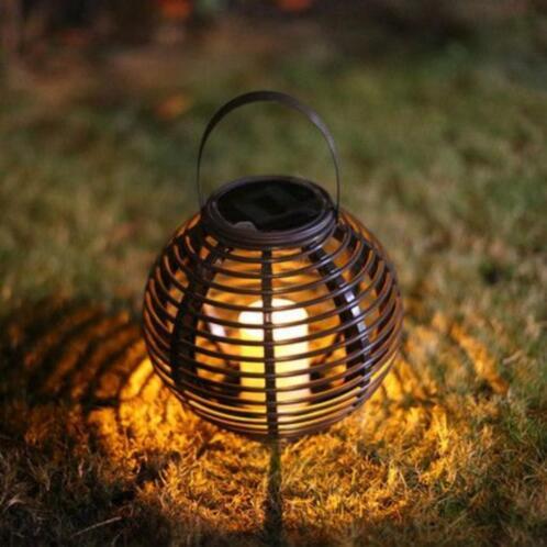 ≥ Solar Lantaarn Basket + zonne energie + Geschikt voor buiten ...