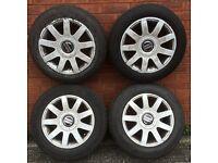 4 Audi rs4 style 15 inch wheels volkswagen golf polo caddy van seat leon altea skoda fabia a2 a3 a1