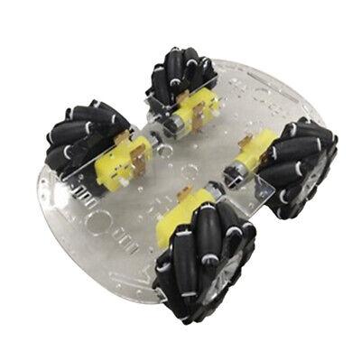 80mm Mecanum Omnidirectional Wheel Robot Car Chassis W Tt Motor For Arduino