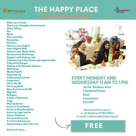 COMMUNITY CENTRE FOR ALL Free activities