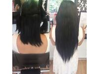 Professional Hair Extensions Pre Bonds Micro Rings Weft Tape