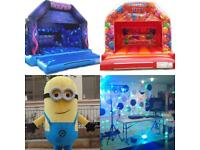 Bouncy Castle, Mascot, DJ hire + more!