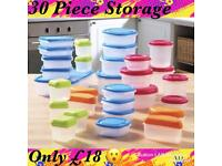30 piece Storage Set