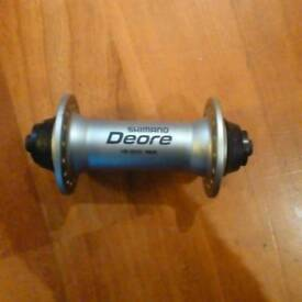 New Shimano deore front hub HB-M530