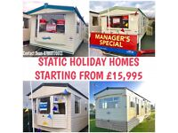Static Caravans Starting From £15,995 Payment Options Available North West Sea Views 12 Month Park
