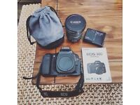 Canon EOS 30D 8.2 MP DSLR Camera + Canon lens EF-S 10-22mm f/3.5-4.5 USM