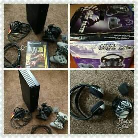 PlayStation 2 & Racing Wheels