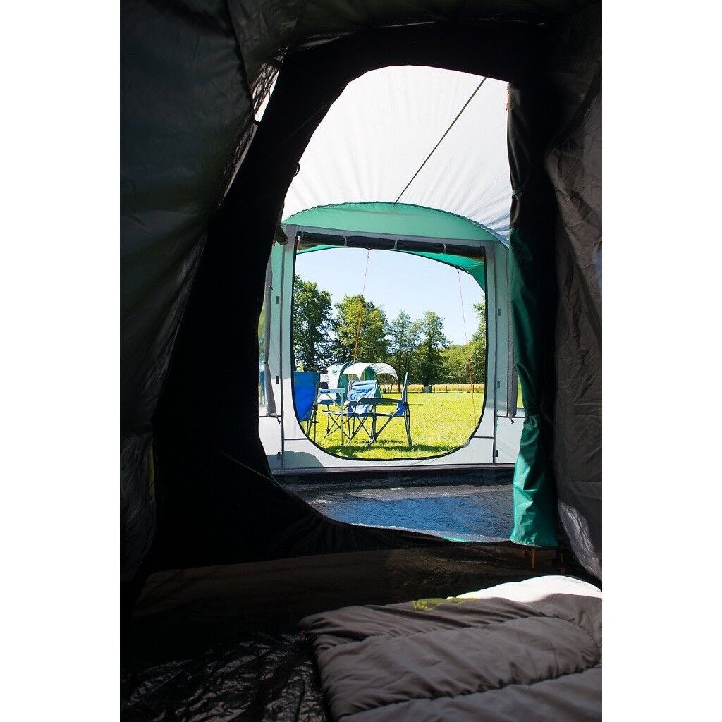 Coleman Tent The BlackOut Festival Camping with Bedroom Technology Essential,