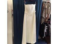 Bodice detail wedding dress. Size 14.