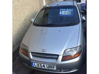 Daewoo Kalos Hatchback Petrol Silver Manual 2004 Low Mileage