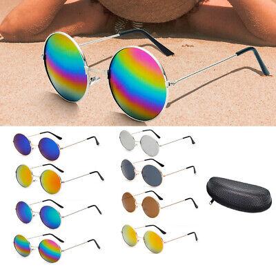 Retro Vintage Sunglasses Men Womens Hippie John Lennon Round Eyewear Sun Glasses