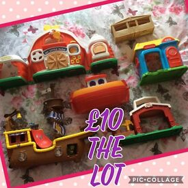 Lots of toys £20