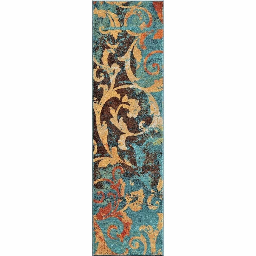 Blue Kitchen Rug: RUNNER RUGS CARPET RUNNERS AREA RUG RUNNERS MODERN