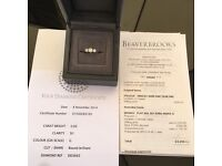 Platinum 3Stone Diamond Engagement Ring