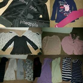 Girls bundle of clothes age 3-5