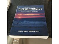 Thermodynamics an engineering approach book