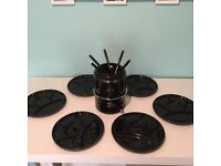 Black Ikea Fondue Set