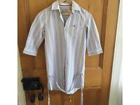 Jack wills women's shirt dress with ties- Excellent condition