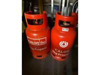 2x6 kg gas bottles