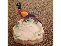Beswick Pheasant coin or ring tray