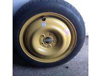 Honda Civic Unused space saver wheel and tyre