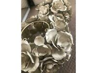 Rose Pendant Light Shades (2 available)