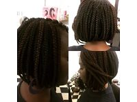 afro-Caribbean and European hair and beauty salon and braiding centre