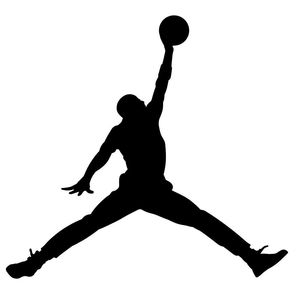 Home Decoration - Michael Jordan Air Decal Basketball Shoes Logo Vinyl Window Sticker i Phone Pad