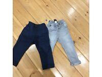 Boys trousers - 12-18mths