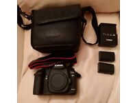 CANON 21MP EOS 5D MARK II DIGITAL SLR CAMERA BODY EOS 5D WITH ACCESSORIES USED