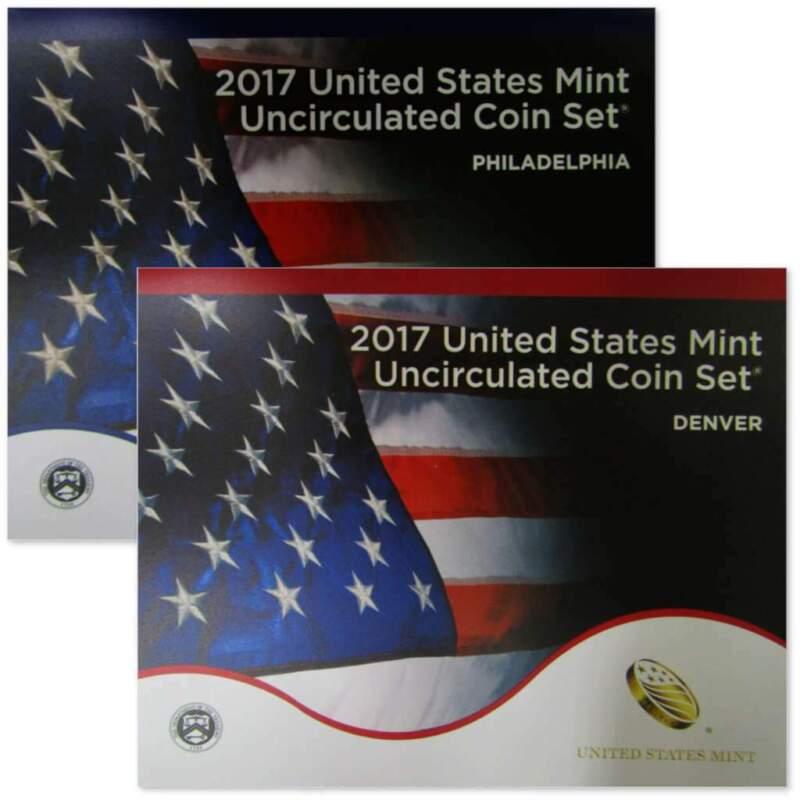 2017 U.S. Mint Uncirculated Set