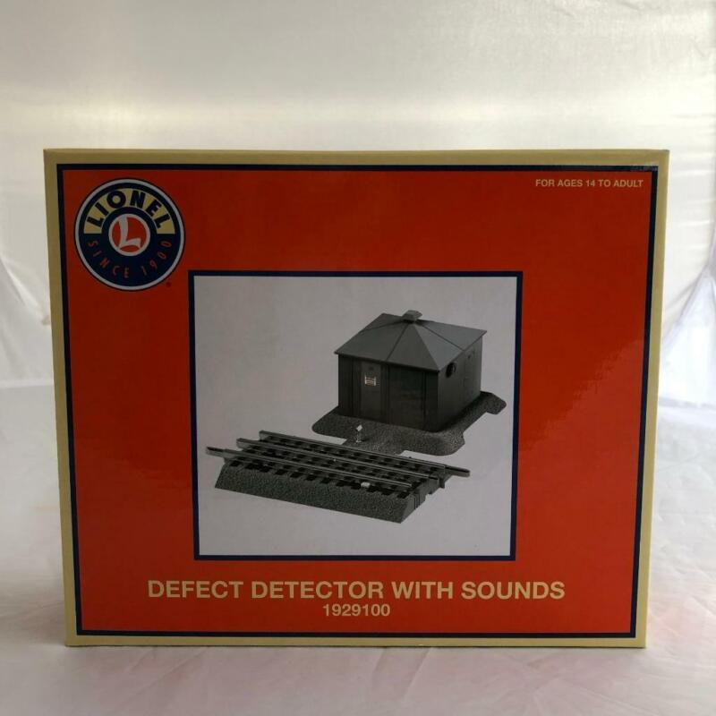 LIONEL 1929100 O GAUGE DEFECT DETECTOR WITH SOUNDS BRAND NEW